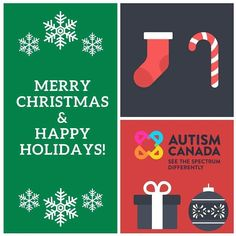 From all of us at #AutismCanada we wish you and your loved ones a beautiful day. Enjoy the time to appreciate one another reflect on the year and create #special memories.