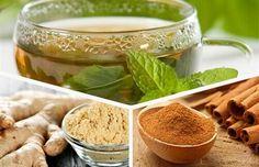 De voordelen van groene thee, gember en kaneel. Je lichaam vernieuwen met deze 3