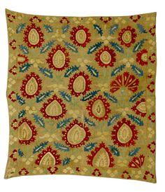 Antique Ottoman 17th c Embroidered Bohça