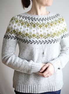 Ravelry: Project Gallery for Birkin pattern by Caitlin Hunter Pullover Design, Sweater Design, Fair Isle Knitting, Knitting Yarn, Clothing Patterns, Knitting Patterns, Ravelry, Stitch Witchery, Icelandic Sweaters
