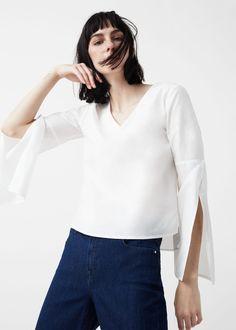 Poplin blouse - Shirts for Woman | MANGO USA