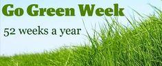 GO GREEN WEEK - Tumblr