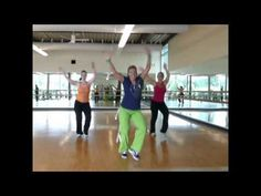 This is a fun easy routine that your members will pick up quickly.  Thank you Brenda and Tracie for dancing with me.