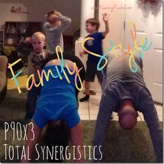 p90x3 total synergistics - family style