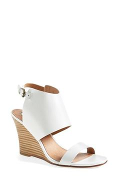Halogen® 'Clarette' Suede Wedge Sandal (Women) available at #Nordstrom