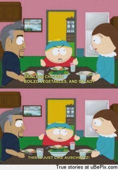 Classic Cartman- (warning: incredibly anti-p. Comedy Cartoon, Cartoon Quotes, Tv Quotes, Cartoon Shows, South Park Quotes, South Park Memes, Anime Chibi, South Park Cartman, Eric Cartman