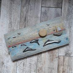 Wakacyjny obraz z delfinami #paddle #stone #wood #handmade #driftwood #dolphins #sea #summer @handmade_by_gromala Stone, Wood, Handmade, Instagram, Rock, Hand Made, Woodwind Instrument, Timber Wood, Stones