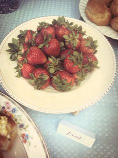 Steffie's Garden Tea Party - Strawberries