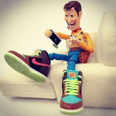 fresh kicks Woody!