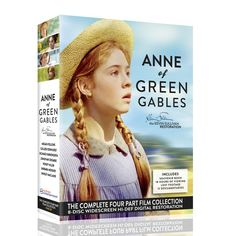 Anne Of Green Gables Dvd Box Set With Audio Book