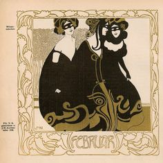 "fuckyeahvintageillustration: "" Art nouveau calender published in 'Ver Sacrum' magazine, illustrated by various artists including Gustav Klimt and Koloman Moser. Art And Illustration, Illustrations, Inspiration Art, Art Inspo, Vintage Artwork, Vintage Posters, Tag Art, Art Nouveau, Dibujos Tattoo"