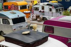 - The BaseCamp Bonn Young Hostel uses camping caravans and trailers as rooms. Vintage Trailers For Sale, T2 T3, Community Housing, New Hospital, Retro Caravan, Vintage Caravans, Vintage Campers, Camping Car, Design Blog