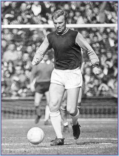 West Ham 1965 - Bobby Moore, a real football legend.
