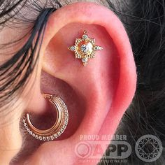 Looking for Salinas california photography? Check out our Salinas image gallery featuring daily photo updates from local residents and tourists of Salinas. Daith Piercing, Ear Piercings, Unusual Piercings, Salinas California, Maria Tash, Gold Jewelry, Body Art, Rose Gold, Earrings