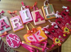 Custom Gift Made to match baby's nursery! Veronica's closet Creations find me on Facebook :-)