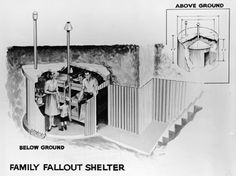 Do you remember people building fall out shelters in the early sixties? We had friends who had one.