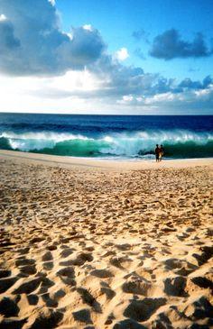 atardecer olas y playa! #surf #playa