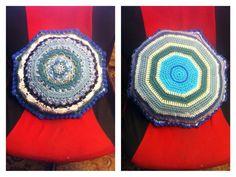 Crochet cushon