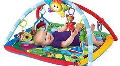 ¿Cómo hacer un gimnasio para bebes?