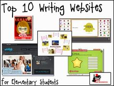 Raki's Rad Resources: Top 10 Writing Websites for the Elementary Classroom. Use these writing websites for authentic keyboarding practice in 5th Grade Writing, Writing Classes, Writing Lessons, Teaching Writing, Writing Workshop, Essay Writing, Thesis Writing, Writing Skills, Writing Prompts