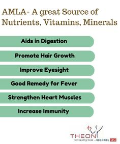 AMLA is a very rich source of Nutrients, Vitamins, Minerals #theon_pharmaceuticals #theon_pharmaceuticals_ltd