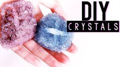 DIY Crystals using ANY Rock | Tumblr Inspired Room Decor