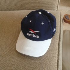 137b1d59 Vintage Reebok cap - Depop Reebok, Plum, Snapback, Baseball Hats, Peach,