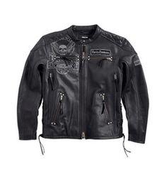 Harley Davidson - DESTINATION LEATHER JACKET - $649.14