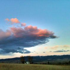 Big sky country. Bitterroot valley