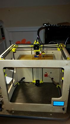 X3D+XS+COREXY+Printer+by+whemming.+Based+on+a+design+by+Unix.