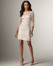 Kay Unger New York  Lace Illusion Dress  $450.00