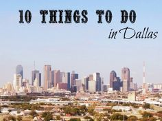 10 Fun Activities for Kids in Dallas