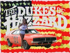 Title: Dukes of Hazzard This collage caught my eye because of the iconic General Lee 69' Dodge Charger. I chose this collage because I love cars.