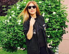 Parka, Black, Isadora Comillas, Look, Street Style, UrbanStyle, Outfit, Lifestyle, Carmen Hummer, blogger, blog de moda, blogger style