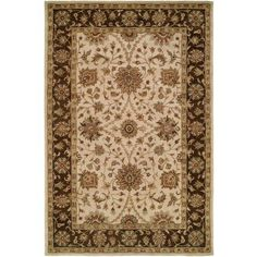 K2 Floor Style - Empire Ivybrn Hand-Tufted Wool Area Rug, Green
