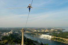 High wire walk at Niagara