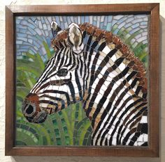 Wildlife mosaics by Cynthie Fisher. Amazing to see in real life. Mosaic Tile Art, Mosaic Artwork, Mosaic Crafts, Mosaic Projects, Mosaic Glass, Stained Glass, Mosaic Flower Pots, Mosaic Garden, Mosaic Designs