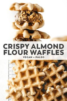 Lemon Desserts, Great Desserts, Fall Desserts, Almond Flour Waffles, Crepes And Waffles, Vegan Pancakes, Chocolate Avocado Brownies, Chocolate Covered Bananas, Strawberry Oatmeal Bars
