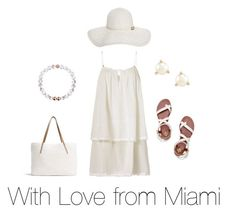 """""""With Love from Miami"""" by lovely-naledi on Polyvore featuring Heidi Klein, Tory Burch, G.H. Bass & Co., Kate Spade and Melissa Odabash"""