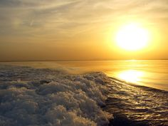 Another picture from our photo contest.  Can you imagine being out on your boat or on the beach and seeing a sunset like this? Amazing! www.wholesalemarine.com #beach, #sunset, #ocean, #boating