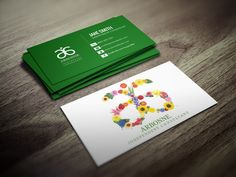 Arbonne Business Cards