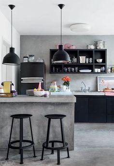 Microcemento en cocinas