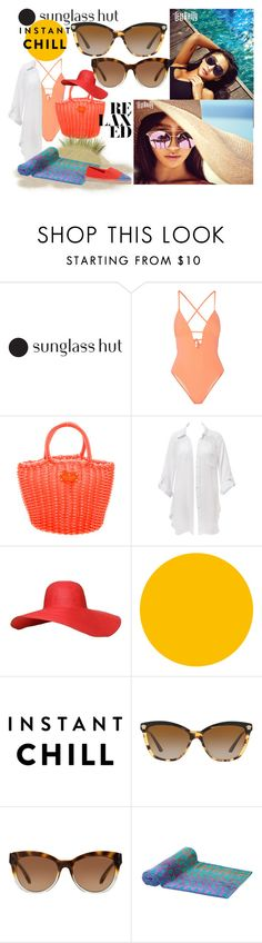"""Shades of You: Sunglass Hut Contest Entry"" by elza-345 ❤ liked on Polyvore featuring Tart, Kate Spade, Beauty & The Beach, Versace, Michael Kors, Tory Burch and shadesofyou"