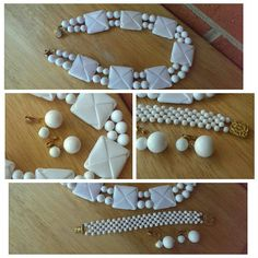 Check out this item in my Etsy shop https://www.etsy.com/listing/251852670/fall-sale-bold-white-vintage-beads-and