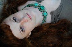 Love this necklace! Isha Elafi designs BEAUTIFUL jewelry.