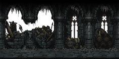 Steam Workshop::More backgrounds for Dungeons 2d Game Background, Darkest Dungeon, Dungeon Maps, Rpg Maker, Sombre, Fantasy Landscape, Environmental Art, Dark Souls, Horror Art