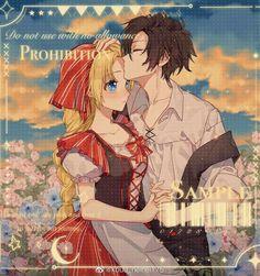 Suddenly i become princess Anime Love Couple, Couple Cartoon, Cute Anime Couples, Anime Cat, Kawaii Anime, Anime Manga, Anime Princess, My Princess, Sad Art