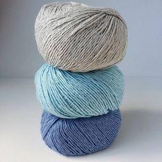 Allino er en delikat blanding av lin og bomull  #Allino #BCgarn #strikkinnom #strikkinnomfarger #strikkinnom_pasteller #strikkedilla #garnspam
