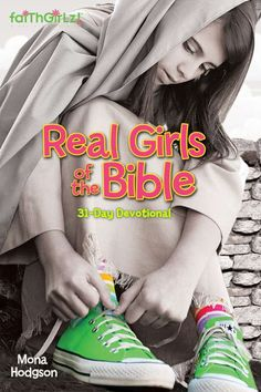 Real Girls of the Bible: 31-Day Devotional (Zonderkidz). Written for ages 8 and up, this devotional features the stories of 31 women from the Old and New Testaments. Look for lots of fun facts and tidbits while you read.