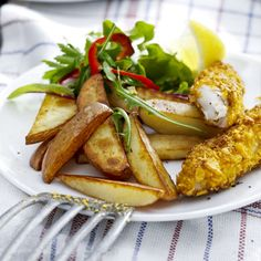 Fish and Chips - made very healthy in a Philips Airfryer Easy Cooking, Cooking Recipes, Oven Recipes, Air Fry Everything, Homemade Fish And Chips, Potato Snacks, Air Fried Food, Chips Recipe, Tortilla Chips